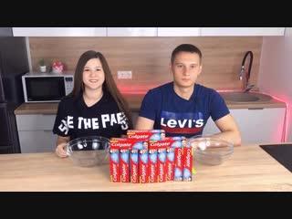 [Lina Win] ЛИЗУН ИЗ ЗУБНОЙ ПАСТЫ ЧЕЛЛЕНДЖ! 3 ЦВЕТА КЛЕЯ В СЛАЙМ! Toothpaste Slime Challenge!