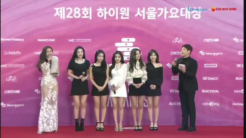 190115 28th Seoul Music Awards Red Carpet| Red Velvet