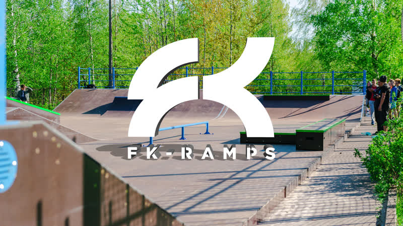 Открытие скейтпарка FK-ramps в Кронштадте