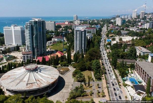 Сочи. Самые красивые города России