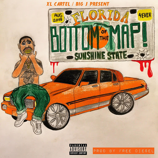 BIG J альбом Bottom of the Map