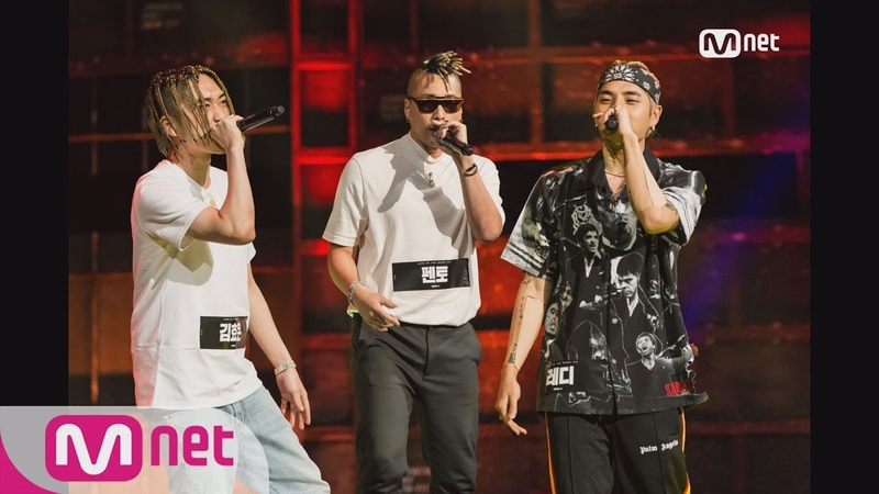 Show Me The Money777 [2회] 중독성 甲! ′안 떨어져~♬′ 김효은vs펜토vs레디 @파이트머니 쟁탈전