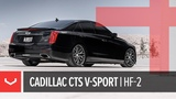 Vossen Hybrid Forged HF-2 Wheel  Cadillac CTS V-Sport  Brushed Gloss Black