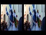 Олимпийский факел чуть не прикончил деда мороза! Exploded Olympic Torch nearly killed Santa Claus