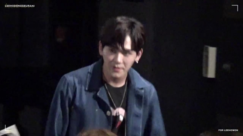 FANCAM 180905 Hoya First Broadcast Viewing Event @ MBN Diabolic Happiness by ho dol
