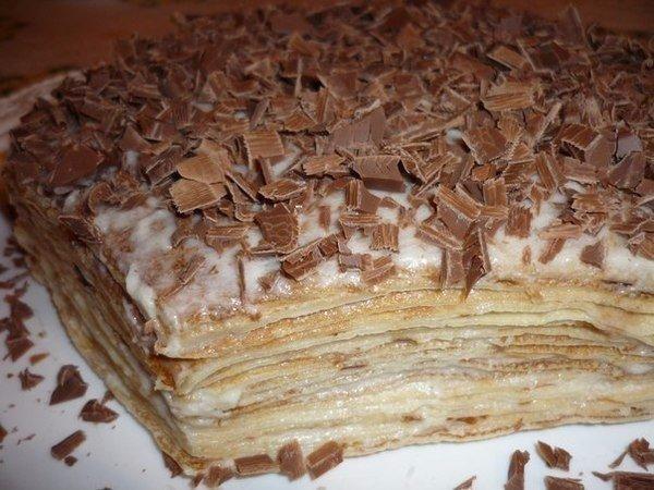 Нежнейший блинный тортик Ингредиенты: Блинчики: -3 яйца -3 ст.л сахара -1 ч.л