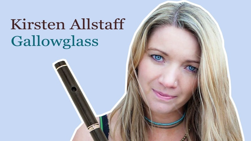 Kirsten Allstaff - Gallowglass (Full Album) 🎵🎵 Celtic Flute Jigs Reels Music