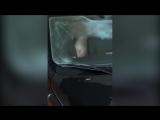 Муж снимает,как жену ебут в машине на парковке