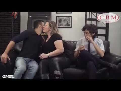 Joice Hasselmann seduzindo mamãefalei e Kim Kataguiri
