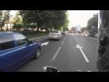 Короткометражки #2 / Краснодарский стритрейсер чуть не снес пешехода.