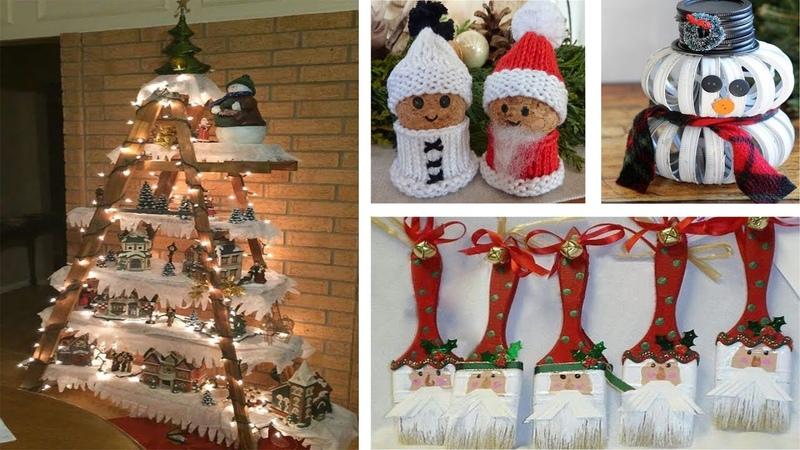 DIY Christmas Decor! Easy Fast DIY Christmas Winter Ideas for Teenagers 27