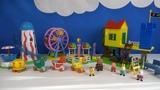 Строим из Lego Duplo, Peppa Pig Toys Luna Park Unboxing #2
