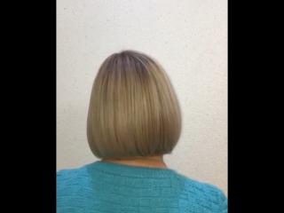 Стрижка + окрашивание и уход за волосами Wella Professional🖤 Парикмахер-стилист Наталья🖤 ☎️ 93-06-06