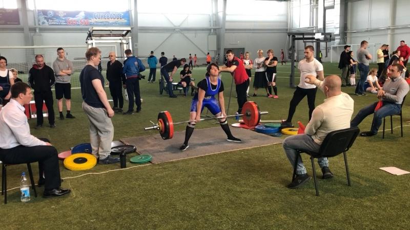 137,5 кг мастер спорта 💪