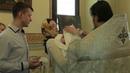 Клип с крещения Ангелины. Храм Рождества Пресвятой Богородицы в Путинках