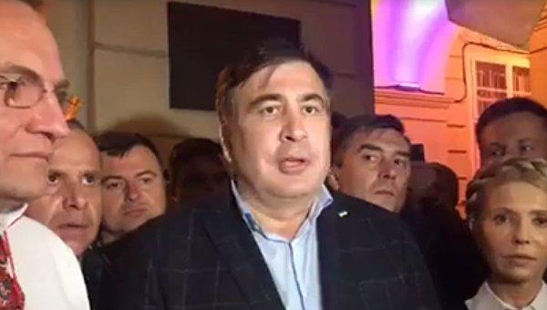 Стала известна судьба Саакашвили на Украине