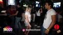 Walid Belkabir and Tatyana Rakhmetulova Salsa Dancing in Cuba Libre Bar, The Third Front, 06.08.2018