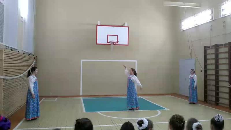Показательный урок танцевального коллектива Сударушка танец Хмелёк