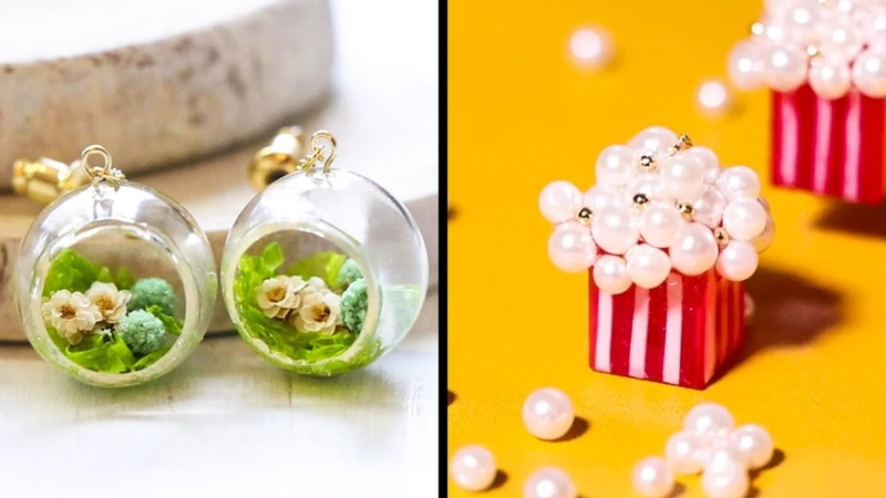 CHARMING WINTER-INSPIRED ACCESSORIES CREATED WITH EPOXY RESIN