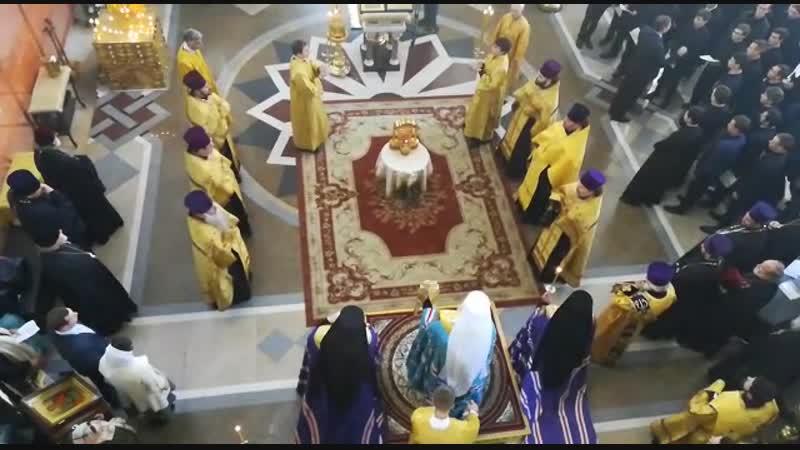Заупокойная лития по погибшим в Керчи, 18 октября 2018 года, Войсковой собор.