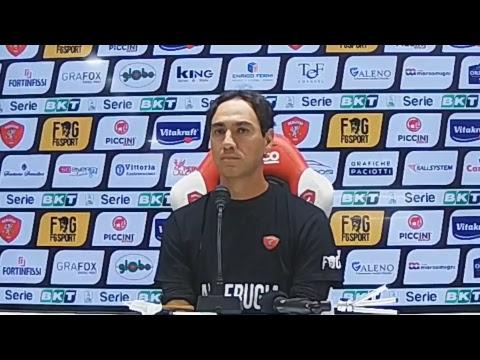 Conferenza pre-partita di Mister Nesta