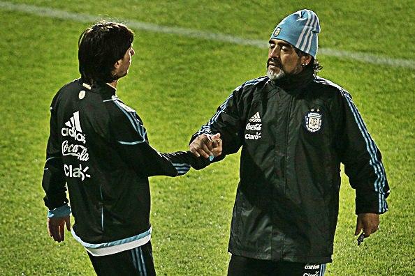 """Франческоли: """"Наиболее похожим на Марадону игроком считаю Месси"""""""
