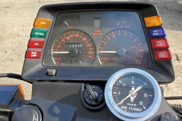 Suzuki GS1150 Turbo - масл-байк из 80-х с воздушным охлаждением