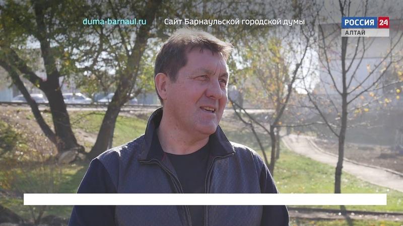 На первом плане. Барнаул: Около 35 тысяч человек приняли участие в городком субботнике