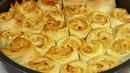ПИРОГ с Фаршем под Сырным Соусом!Закусочный пирог