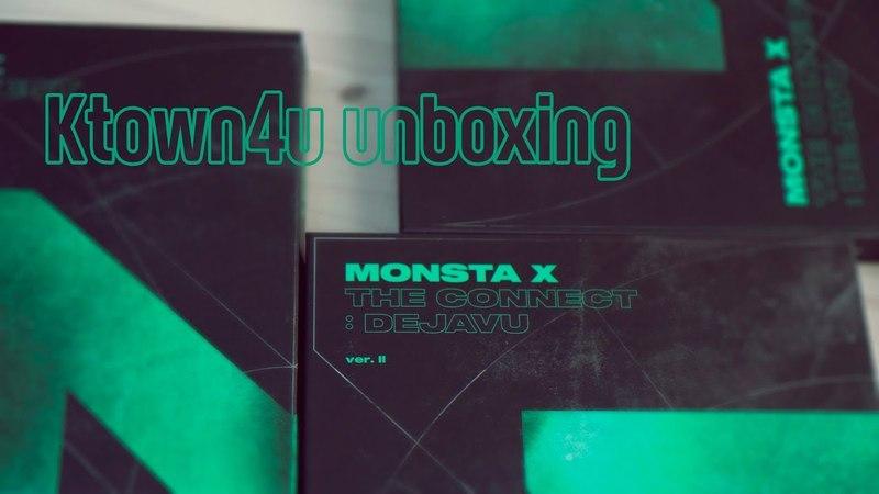 [Ktown4u Unboxing] MONSTA X - [THE CONNECT : DEJAVU] (Ver. II) 몬스타엑스