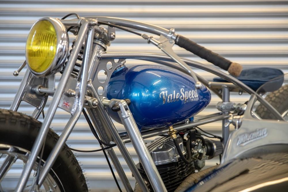Valespeed Motorcycles: Valespeed 28 - лимитированный кастом-байк на тему социальной дистанции