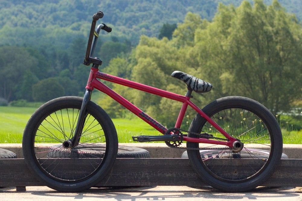 Mark Burnett bikecheck