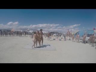 naked oil wrestling at Burning Man 2015 on Vimeo