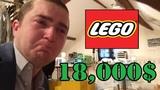 Блогера ограбили на 18000 тысяч долларов, украв коллекцию Lego (Star Wars)