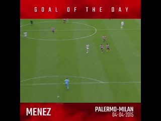 Onthisday - @jeremy_menez187 dusts palermos defence for the winner