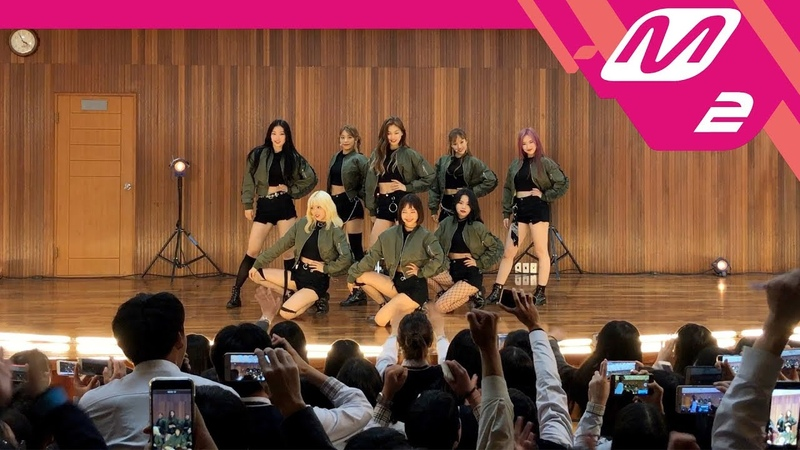 [스쿨오브락] 위키미키 직캠 Crush (Weki Meki FanCam)   2018.10.15