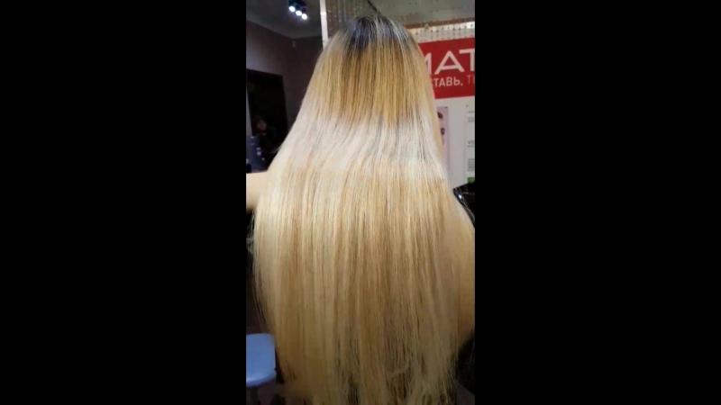 наращивание волос в Омске