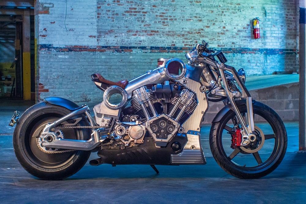 Компания Confederate Motorcycles снова возвращается... Возрождается!