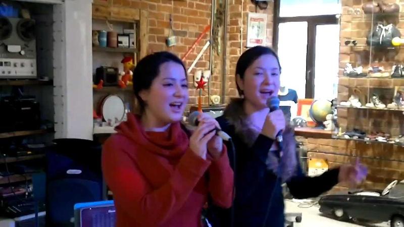 Подмосковные вечера на китайском языке!