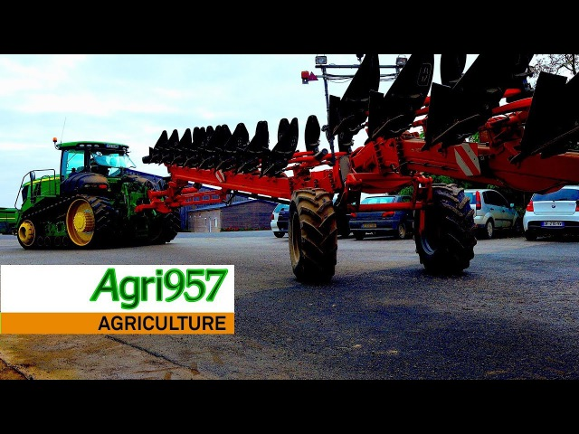 XXL PLOUGHING: JOHN DEERE 9570RT GREGOIRE BESSONS | WORKING on DAY, AMAZING SUNSET and NIGHT
