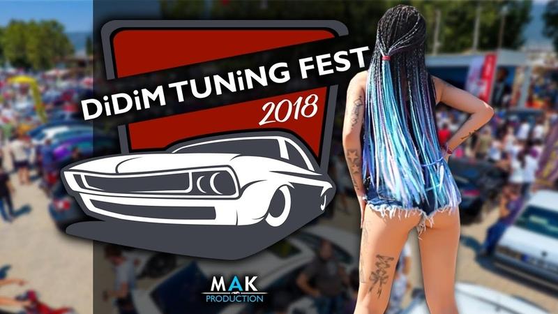 Didim Tuning Fest 2018 MAK PRODUCTION ARABA FUARI