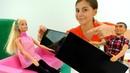 Видео для девочек - Посылка-сюрприз для Барби - Игры в куклы