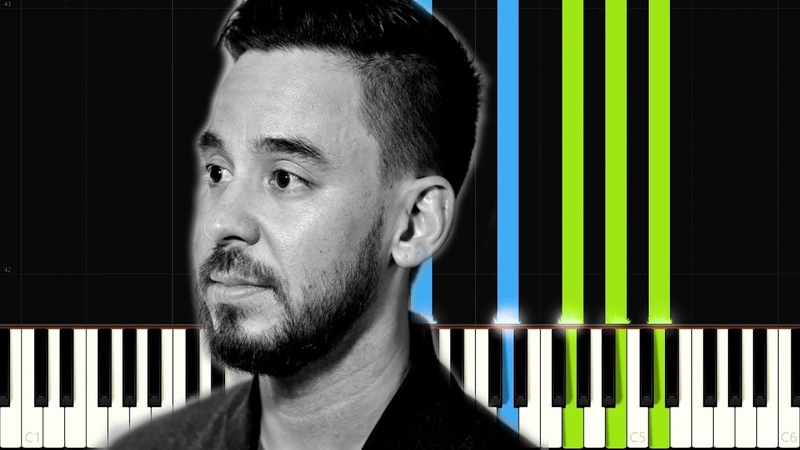 Place to Start - Mike Shinoda   Synthesia Tutorial   Piano Cover Free Sheets