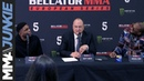The closest thing to a face off from the Bellator 216 press conference in London