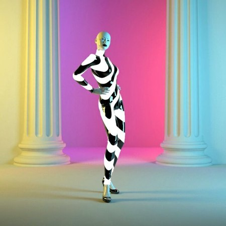 "Josefin Jonsson on Instagram: ""Kikkiwave From pastelae.com  3danimation 3dart animation fashion cawalk latex"""
