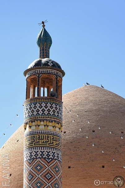 МЕЧЕТЬ АГА БОЗОРГ (ИРАН) Знаменитое историческое сооружение в Кашане, построенное в конце 1700- х годов мастером Сабан-али. Мечеть считающаяся одной из самых красивых монументов исламской эпохи,