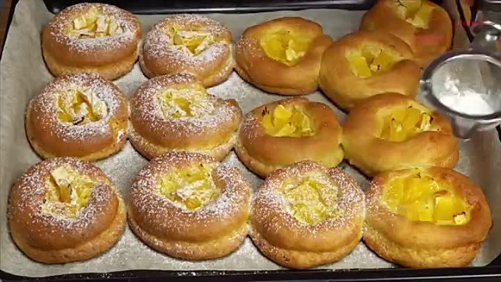 Творожники с апельсинами Творожное печенье Очень легкий рецепт