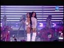 Becky G Natti Natasha Sin Pijamas Premios Juventud Becky le pega nalgada a Natti 2018