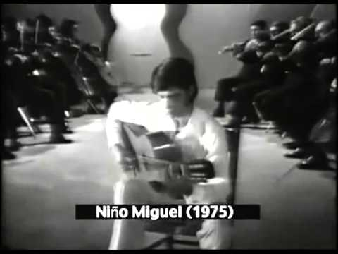 NIÑO MIGUEL VALS FLAMENCO TVE 1975