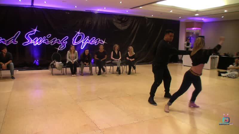 Arjay Centeno and Beverly Brunerie - Pro JJ - Midland Swing Open 2018
